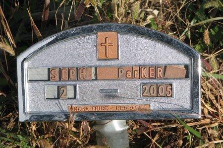 PARKER, SEPH - Thurston County, Nebraska | SEPH PARKER - Nebraska Gravestone Photos