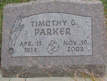 PARKER, TIMOTHY G. - Thurston County, Nebraska | TIMOTHY G. PARKER - Nebraska Gravestone Photos