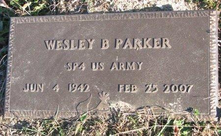 PARKER, WESLEY B. - Thurston County, Nebraska | WESLEY B. PARKER - Nebraska Gravestone Photos
