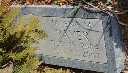 PAYER, JALENA M. - Thurston County, Nebraska   JALENA M. PAYER - Nebraska Gravestone Photos