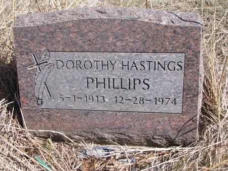 PHILLIPS, DOROTHY - Thurston County, Nebraska | DOROTHY PHILLIPS - Nebraska Gravestone Photos