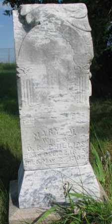 PHILLIPS, MARY V. - Thurston County, Nebraska | MARY V. PHILLIPS - Nebraska Gravestone Photos