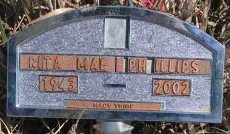 PHILLIPS, RITA MAE - Thurston County, Nebraska | RITA MAE PHILLIPS - Nebraska Gravestone Photos