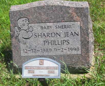 PHILLIPS, SHARON JEAN - Thurston County, Nebraska | SHARON JEAN PHILLIPS - Nebraska Gravestone Photos