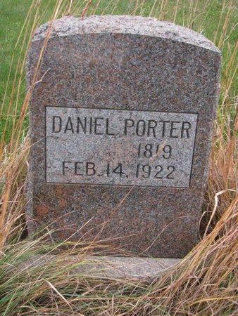 PORTER, DANIEL - Thurston County, Nebraska   DANIEL PORTER - Nebraska Gravestone Photos