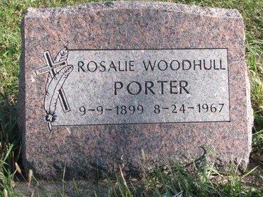 WOODHULL PORTER, ROSALIE - Thurston County, Nebraska | ROSALIE WOODHULL PORTER - Nebraska Gravestone Photos