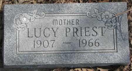 PRIEST, LUCY - Thurston County, Nebraska   LUCY PRIEST - Nebraska Gravestone Photos