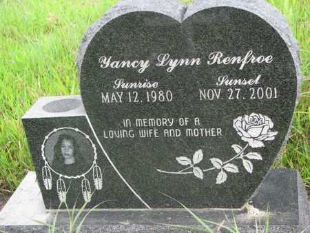 RENFROE, YANCY LYNN - Thurston County, Nebraska | YANCY LYNN RENFROE - Nebraska Gravestone Photos