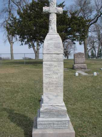 DINKLAGE, JOHN - Thurston County, Nebraska | JOHN DINKLAGE - Nebraska Gravestone Photos