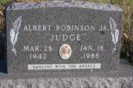 ROBINSON, ALBERT JR. - Thurston County, Nebraska | ALBERT JR. ROBINSON - Nebraska Gravestone Photos