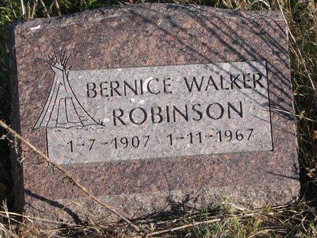 ROBINSON, BERNICE - Thurston County, Nebraska | BERNICE ROBINSON - Nebraska Gravestone Photos
