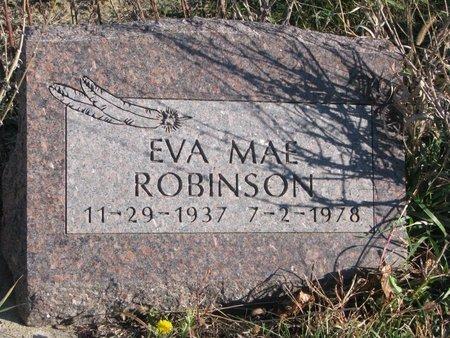 ROBINSON, EVA MAE - Thurston County, Nebraska | EVA MAE ROBINSON - Nebraska Gravestone Photos