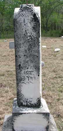 ROBINSON, JOHN - Thurston County, Nebraska | JOHN ROBINSON - Nebraska Gravestone Photos