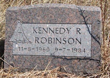 ROBINSON, KENNEDY R. - Thurston County, Nebraska | KENNEDY R. ROBINSON - Nebraska Gravestone Photos