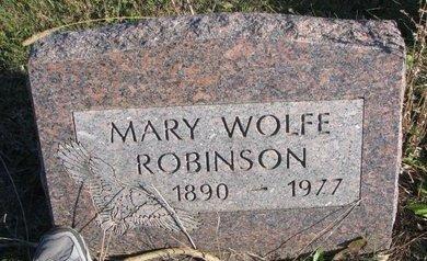 ROBINSON, MARY - Thurston County, Nebraska | MARY ROBINSON - Nebraska Gravestone Photos