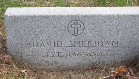 SHERIDAN, DAVID - Thurston County, Nebraska | DAVID SHERIDAN - Nebraska Gravestone Photos