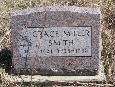 MILLER SMITH, GRACE - Thurston County, Nebraska | GRACE MILLER SMITH - Nebraska Gravestone Photos