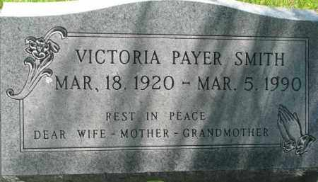 PAYER SMITH, VICTORIA - Thurston County, Nebraska | VICTORIA PAYER SMITH - Nebraska Gravestone Photos