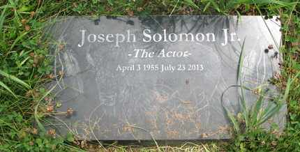 SOLOMON, JOSEPH JR. - Thurston County, Nebraska | JOSEPH JR. SOLOMON - Nebraska Gravestone Photos