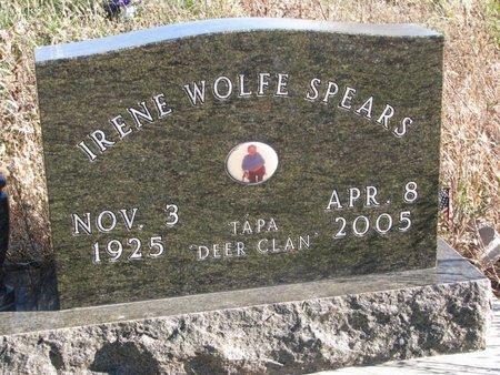 SPEARS, IRENE - Thurston County, Nebraska   IRENE SPEARS - Nebraska Gravestone Photos