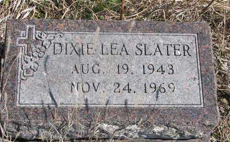 SLATER, DIXIE LEA - Thurston County, Nebraska   DIXIE LEA SLATER - Nebraska Gravestone Photos