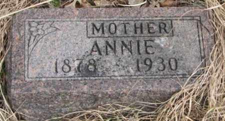 ST. CYR, ANNIE - Thurston County, Nebraska   ANNIE ST. CYR - Nebraska Gravestone Photos