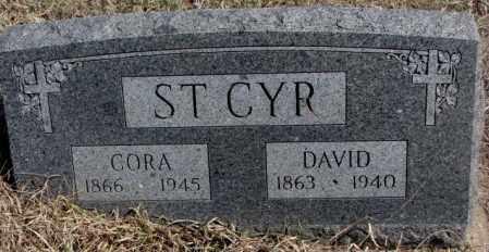 ST. CYR, CORA - Thurston County, Nebraska | CORA ST. CYR - Nebraska Gravestone Photos