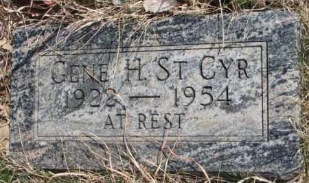 ST. CYR, GENE H. - Thurston County, Nebraska | GENE H. ST. CYR - Nebraska Gravestone Photos