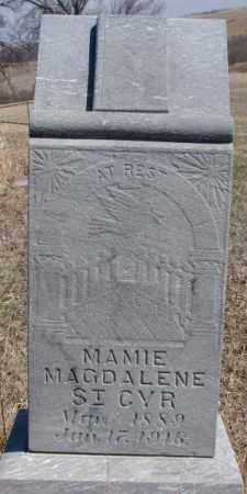 ST. CYR, MAMIE MAGDALENE - Thurston County, Nebraska | MAMIE MAGDALENE ST. CYR - Nebraska Gravestone Photos