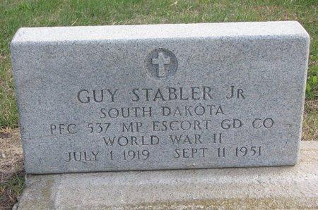 STABLER, GUY JR. - Thurston County, Nebraska | GUY JR. STABLER - Nebraska Gravestone Photos
