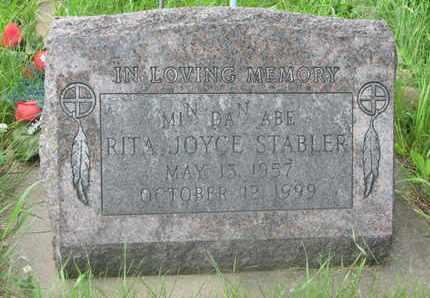 STABLER, RITA JOYCE - Thurston County, Nebraska | RITA JOYCE STABLER - Nebraska Gravestone Photos