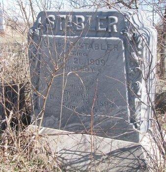 STABLER, SAMSON - Thurston County, Nebraska   SAMSON STABLER - Nebraska Gravestone Photos