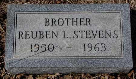 STEVENS, REUBEN L. - Thurston County, Nebraska   REUBEN L. STEVENS - Nebraska Gravestone Photos