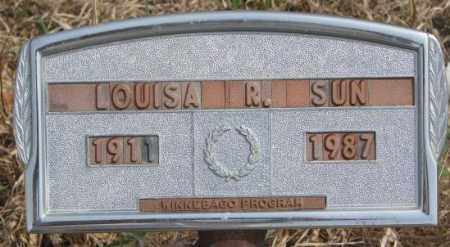 SUN, LOUISA R. - Thurston County, Nebraska   LOUISA R. SUN - Nebraska Gravestone Photos