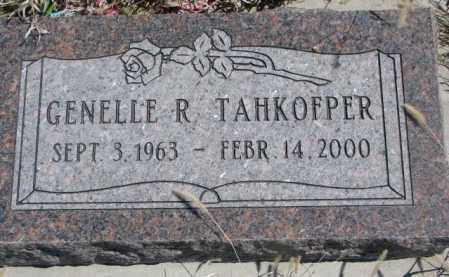 TAHKOFPER, GENELLE R. - Thurston County, Nebraska | GENELLE R. TAHKOFPER - Nebraska Gravestone Photos