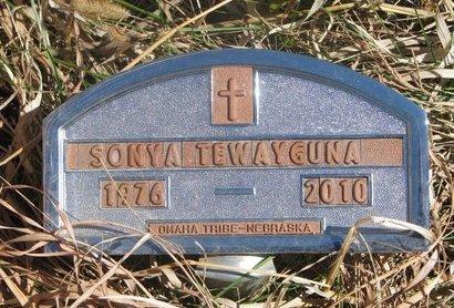 TEWAYGUNA, SONYA - Thurston County, Nebraska | SONYA TEWAYGUNA - Nebraska Gravestone Photos
