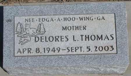 THOMAS, DELORES L. - Thurston County, Nebraska   DELORES L. THOMAS - Nebraska Gravestone Photos