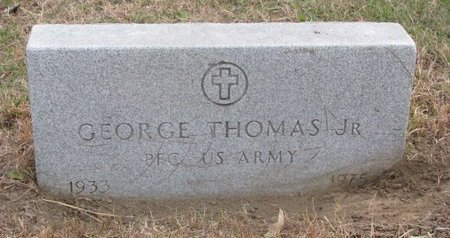 THOMAS, GEORGE JR. - Thurston County, Nebraska | GEORGE JR. THOMAS - Nebraska Gravestone Photos