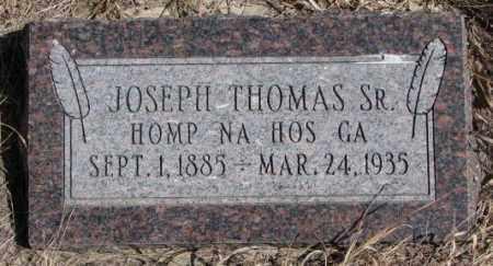 THOMAS, JOSEPH SR. - Thurston County, Nebraska | JOSEPH SR. THOMAS - Nebraska Gravestone Photos