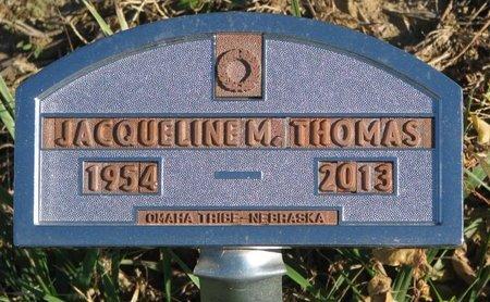 THOMAS, JACQUELINE M. - Thurston County, Nebraska | JACQUELINE M. THOMAS - Nebraska Gravestone Photos