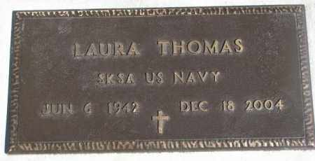 THOMAS, LAURA - Thurston County, Nebraska | LAURA THOMAS - Nebraska Gravestone Photos