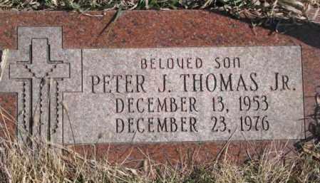 THOMAS, PETER J. JR. - Thurston County, Nebraska   PETER J. JR. THOMAS - Nebraska Gravestone Photos