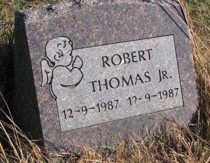 THOMAS, ROBERT JR. - Thurston County, Nebraska   ROBERT JR. THOMAS - Nebraska Gravestone Photos