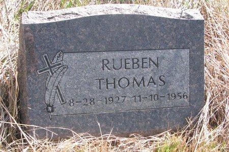 THOMAS, RUEBEN - Thurston County, Nebraska | RUEBEN THOMAS - Nebraska Gravestone Photos