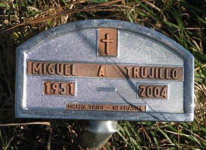 TRUJILLO, MIGUEL A. - Thurston County, Nebraska | MIGUEL A. TRUJILLO - Nebraska Gravestone Photos