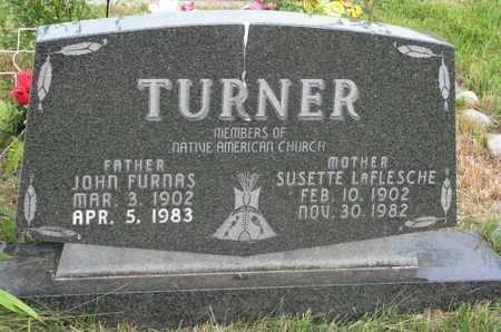 TURNER, JOHN FURNAS - Thurston County, Nebraska | JOHN FURNAS TURNER - Nebraska Gravestone Photos
