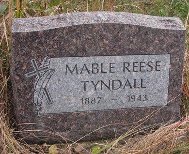 TYNDALL, MABLE - Thurston County, Nebraska | MABLE TYNDALL - Nebraska Gravestone Photos