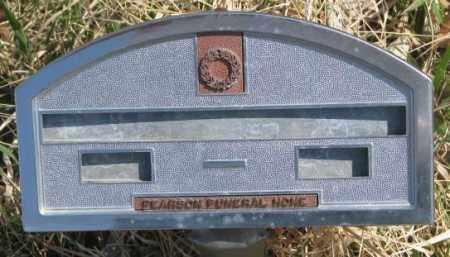 UNKNOWN, . - Thurston County, Nebraska | . UNKNOWN - Nebraska Gravestone Photos