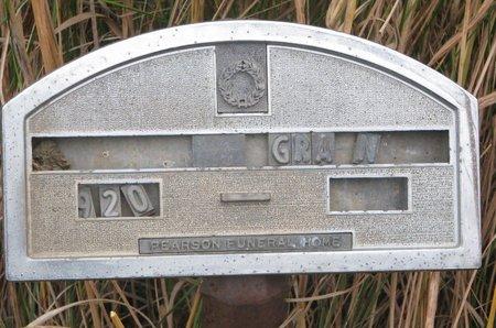UNKNOWN, 1920 GRA N - Thurston County, Nebraska   1920 GRA N UNKNOWN - Nebraska Gravestone Photos