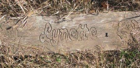UNKNOWN, LYNETTE - Thurston County, Nebraska | LYNETTE UNKNOWN - Nebraska Gravestone Photos
